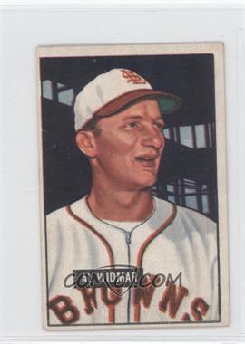 1951 Bowman #281 - Al Widmar