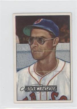 1951 Bowman #307 - Walt Masterson