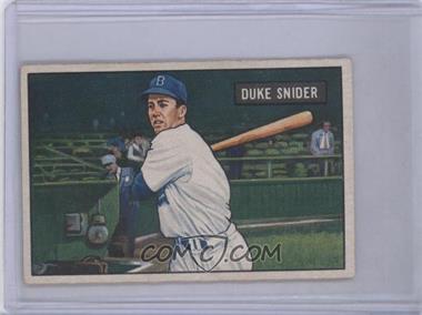 1951 Bowman #32 - Duke Snider