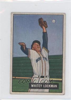 1951 Bowman #37 - Whitey Lockman