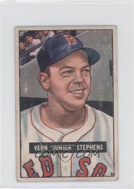 1951 Bowman #92 - Vern 'Junior' Stephens [GoodtoVG‑EX]