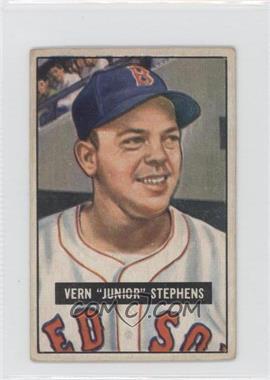 1951 Bowman #92 - Vern Stephens [GoodtoVG‑EX]