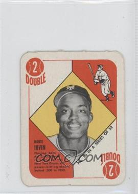 1951 Topps Red Backs #50 - Monte Irvin