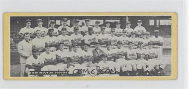 1951 Topps Teams #BRDO - Brooklyn Dodgers Team [Good to VG‑EX]