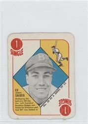 Topps Red Backs Duke Snider