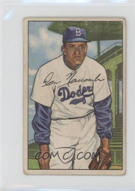 1952 Bowman - [Base] #128 - Don Newcombe [Good to VG‑EX]