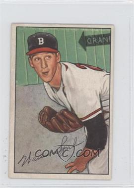 1952 Bowman - [Base] #156 - Warren Spahn