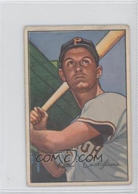 1952 Bowman - [Base] #47 - Pete Castiglione [PoortoFair]