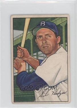 1952 Bowman - [Base] #80 - Gil Hodges [GoodtoVG‑EX]