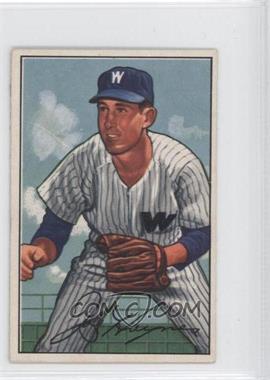 1952 Bowman #103 - Joe Haynes