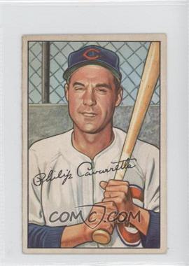 1952 Bowman #126 - Phil Cavarretta