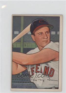 1952 Bowman #151 - Al Rosen