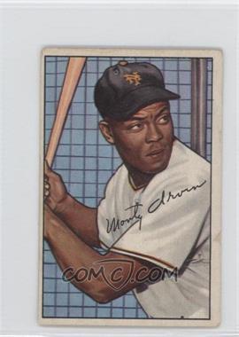 1952 Bowman #162 - Monte Irvin