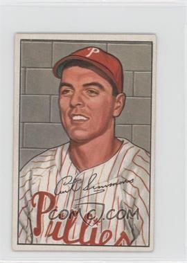 1952 Bowman #184 - Curt Simmons