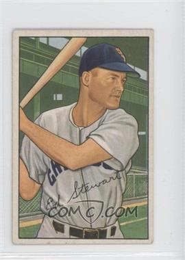1952 Bowman #185 - Ed Stewart