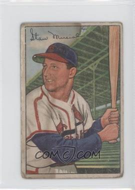 1952 Bowman #196 - Stan Musial [Poor to Fair]