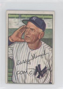 1952 Bowman #217 - Casey Stengel