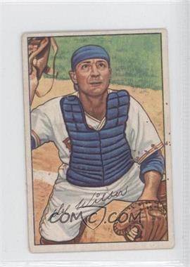 1952 Bowman #225 - Del Wilber