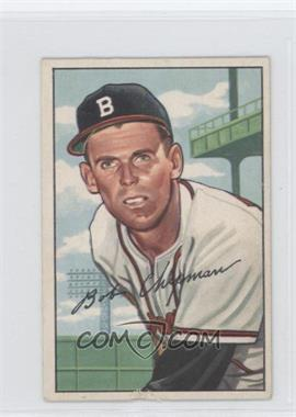 1952 Bowman #228 - Bob Chipman