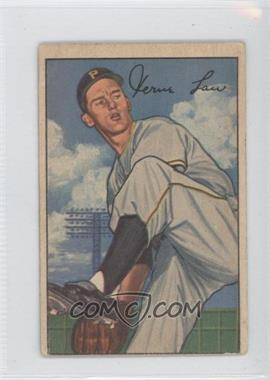 1952 Bowman #71 - Vern Law