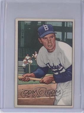 1952 Bowman #8 - Pee Wee Reese