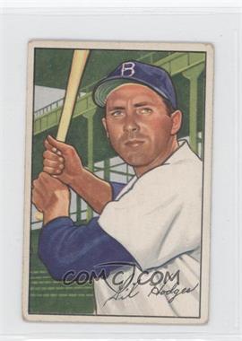 1952 Bowman #80 - Gil Hodges