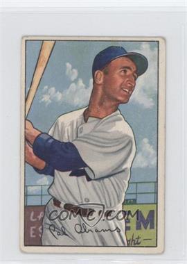 1952 Bowman #86 - Cal Abrams