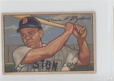 1952 Bowman #9 - Vern Stephens