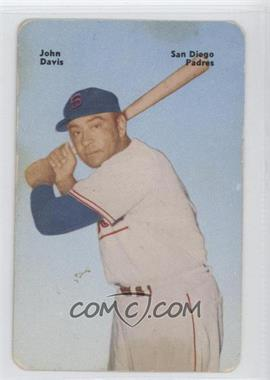 1952 Mother's Cookies Pacific Coast League Food Issue [Base] #27 - Johnny Davis