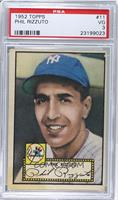 Phil Rizzuto (Red Back) [PSA3]