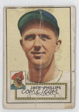 1952 Topps - [Base] #240 - Jack Phillips