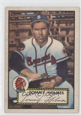 1952 Topps - [Base] #289 - Tommy Holmes [Good to VG‑EX]