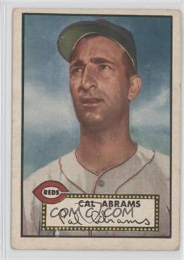 1952 Topps - [Base] #350 - Cal Abrams [Good to VG‑EX]