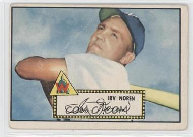 1952 Topps - [Base] #40.1 - Irv Noren (Red Back) [Good to VG‑EX]