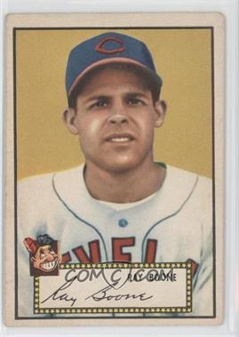 1952 Topps - [Base] #55.1 - Ray Boone (Red Back) [GoodtoVG‑EX]