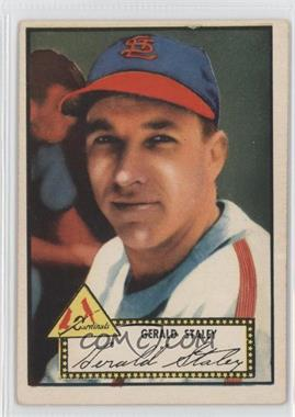 1952 Topps - [Base] #79.1 - Jerry Staley (Red Back)