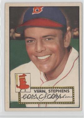 1952 Topps - [Base] #84 - Vern Stephens