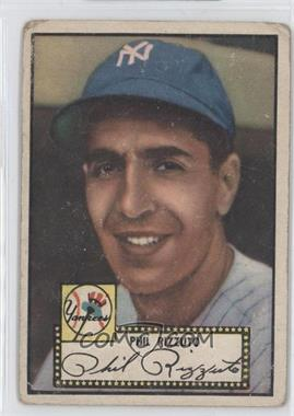 1952 Topps #11BB - Phil Rizzuto (Black Back)