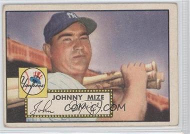 1952 Topps #129 - Johnny Mize [GoodtoVG‑EX]