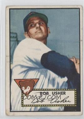 1952 Topps #157 - Bob Usher [Good to VG‑EX]