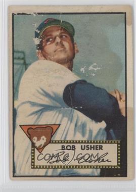 1952 Topps #157 - Bob Usher [PoortoFair]