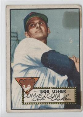 1952 Topps #157 - Bob Usher [Poor to Fair]