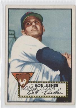 1952 Topps #157 - Bob Usher
