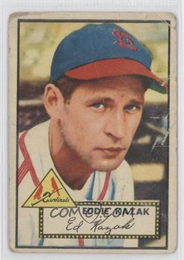 1952 Topps #165 - Eddie Kazak [PoortoFair]