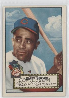 1952 Topps #193 - Harry Simpson