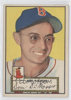 1952 Topps #22.1 - Dom DiMaggio (Red Back)