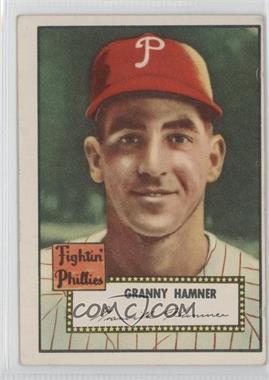 1952 Topps #221 - Granny Hamner