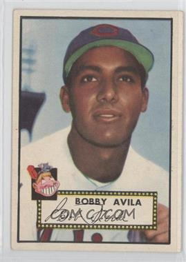 1952 Topps #257 - Bobby Avila