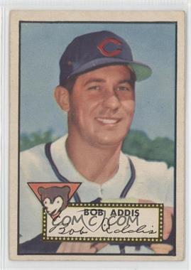 1952 Topps #259 - Bob Addis