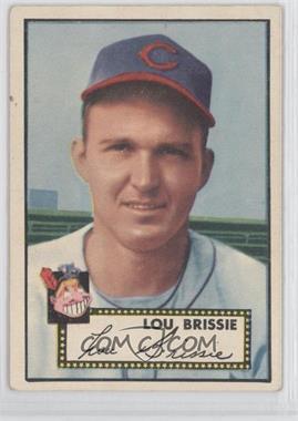 1952 Topps #270 - Lou Brissie